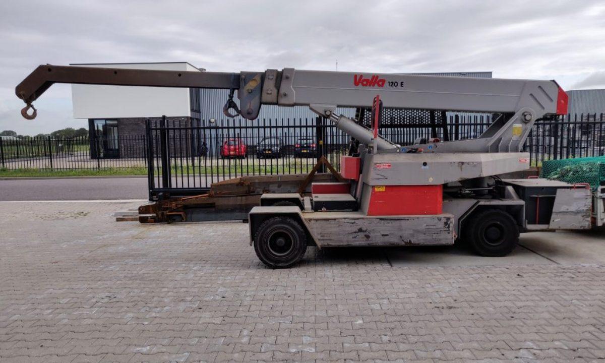 Valla-120-E mobiele kraan 12 ton