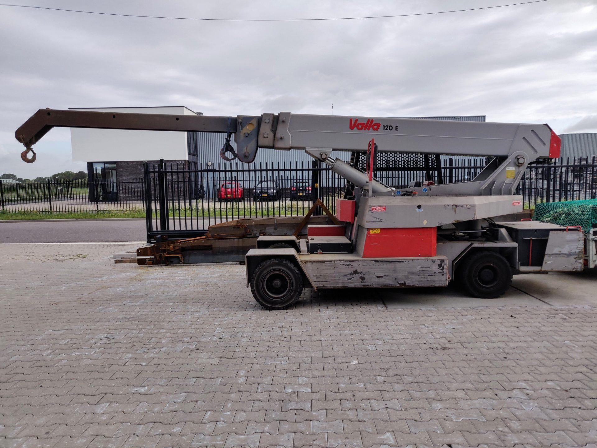 Mobiele Kraan 12000 kg